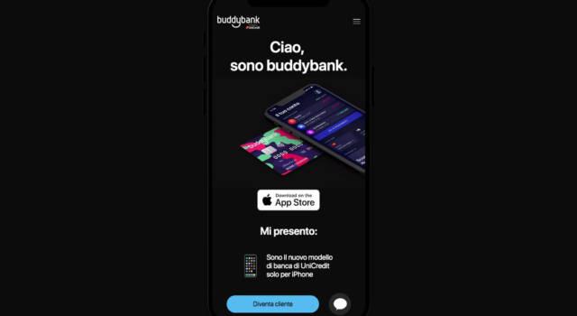 Che cos'è buddybank, il conto corrente solo per iPhone di UniCredit che ti semplifica la vita