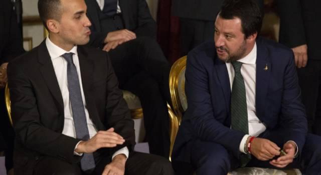 """Salvini vuole una manovra coraggiosa. La risposta di Di Maio: """"Copertura flat tax un mistero"""""""