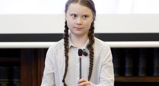 """Davos, l'allarme di Greta: """"L'emissione globale continua ad aumentare"""""""