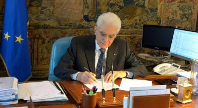 Il presidente Mattarella ha firmato il dl cuneo fiscale