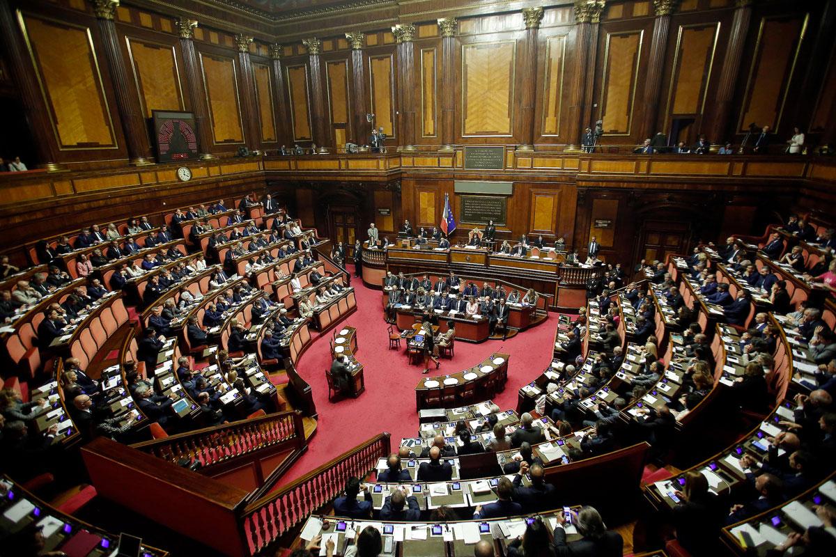 Senato aula Parlamento